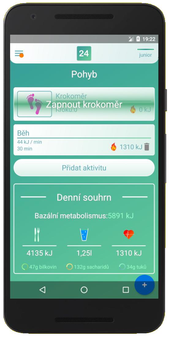 aplikace na sportovní aktivity